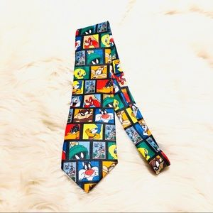 ❤️ Looney Tunes stamp collection tie!